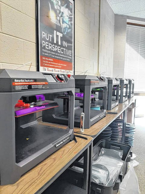 The Southern Ohio Makers against COVID Coalition hopes to 3-D print as many plastic face shields as possible during the COVID-19 pandemic.