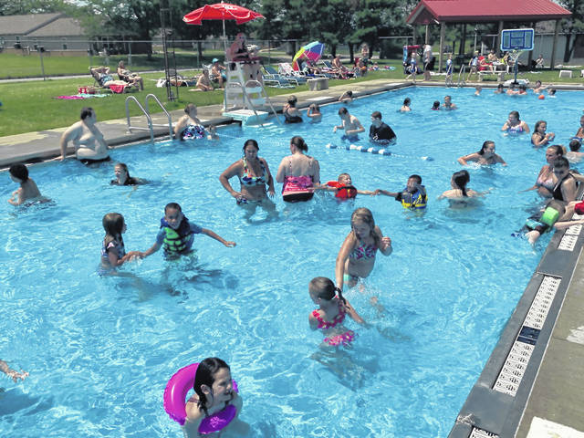 The Jeffersonville pool attracts approximately 9,000 people each swim season making it common to have crowds packed together, such as this pictured day during the swim season in 2019. The pool will not open during the swim season of 2020 for various reasons including difficulty in maintaining social distancing during the COVID-19 pandemic, financial burden on the village of opening the pool with a shorter than normal swim season, and difficulty in securing the proper number of certified life guards.
