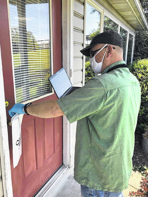 On Wednesday, the U.S. Census Bureau, in coordination with federal, state and local health officials, began to drop off 2020 Census questionnaire packets at front doors of households in Ohio. This is done in areas where the majority of households do not receive mail at their physical address.