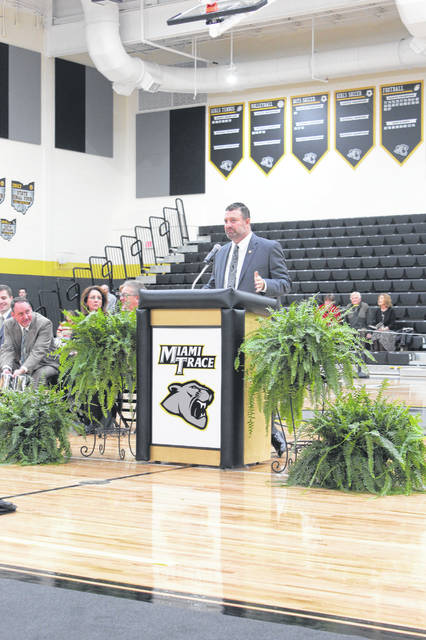 Miami Trace Superintendent David Lewis is set to become the superintendent at Newark City Schools.