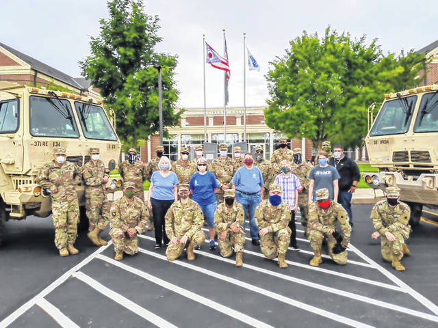 On Friday, Washington Court House City Schools partnered with the Ohio National Guard (1-134th Field Artillery Regiment), the Mid-Ohio Foodbank, and WCH Grace United Methodist Church to offer free family food distribution which served 272 families. See more photos inside.