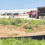 Menards facility construction underway