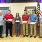 Elks Lodge #129 scholarship winners