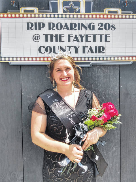 The Opening Ceremony of the 141st Fayette County Fair was held Sunday afternoon with community members in attendance. During the ceremony, Aubrey Schwartz was named the 2020 Fayette County Fair Queen. She thanked everyone who came out and said she was ready to make this year's fair great.