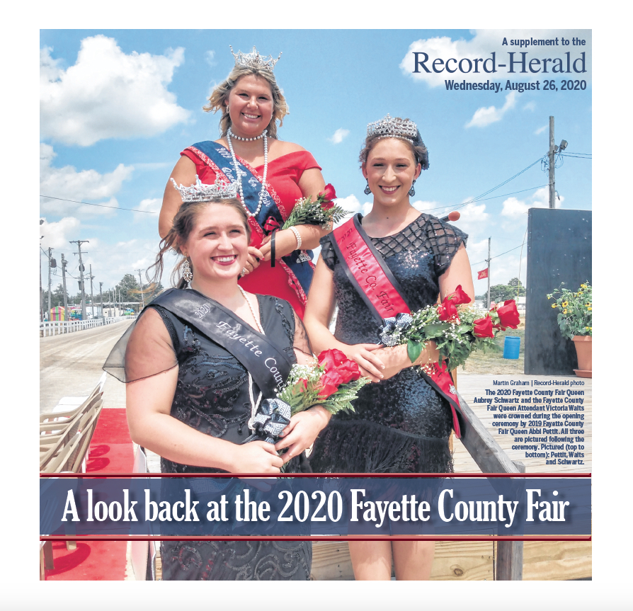 Fayette County Fair Review 2020