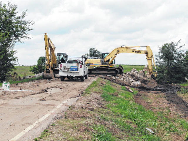 Recently, the Fayette County Engineer's Office began various projects around the community including a bridge replacement on Danville Road north of Bloomingburg. As of when the project started on July 27, it's expected to continue for about two months, finishing around the middle of September. The project is estimated at a cost of about $500,000 with 95 percent of the price being funded federally.