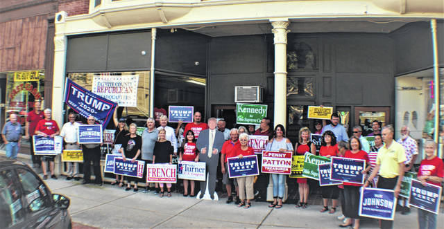 The Fayette County Republican Party recently held a grand opening of its headquarters at 143 N. Main St. in Washington Court House. Beginning Sept. 2 the hours will be expanded from Monday-Friday from 10 a.m. to 7 p.m. Literature and yard signs are available along with voter registration. You can update your voter information. Merchandise is available.