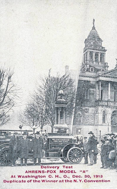 Members of the Washington Fire Department recently announced that a rare, motorized fire engine the city first purchased in 1913 will appear in the Fire Museum of Maryland this weekend following its restoration.