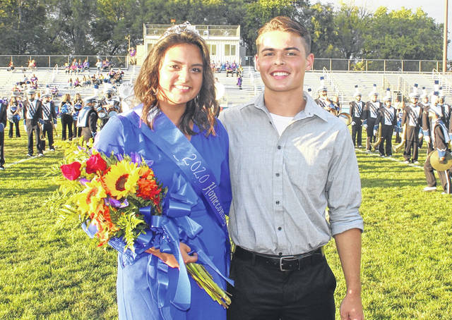 Washington High School celebrated its 2020 Homecoming this week. Prior to Friday night's football game against the McClain Tigers, senior Alexa Perez was introduced as the Queen and Chase Mallow the King. Please see today's Friday Night Lights page for more homecoming photos.