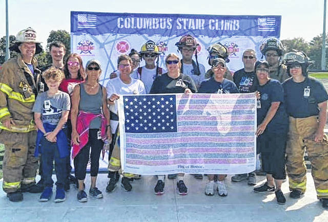 Over the weekend, Wayne Township Volunteer Fire Rescue and its team, comprised of varying locals, traveled to Obetz, Ohio for this year's Columbus 9/11 Memorial Stair Climb event.