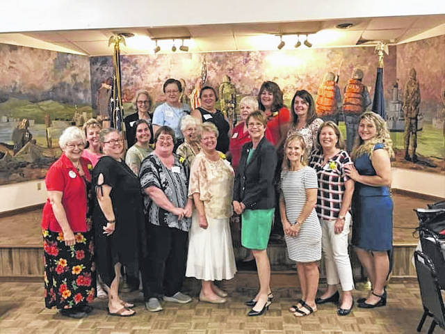 The Fayette County Republican Women's Club recently hosted its Legacy Reception.