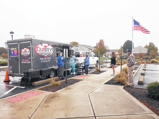 This week, Court House Manor hosted Taesty's Food Truck out of Circleville, which specializes in southern food. Court House Manor has hosted a few other food trucks over the last six months, and along with the staff and residents enjoying the special treat of lunch brought to them, the community has really enjoyed as well. This is an easy, safe way to bring the community to the location. Two more food trucks will soon visit St. Catherine's Manor: Schmidt's Sausage Truck on Oct. 30 and Mikey's Late Night Slice on Nov. 20.