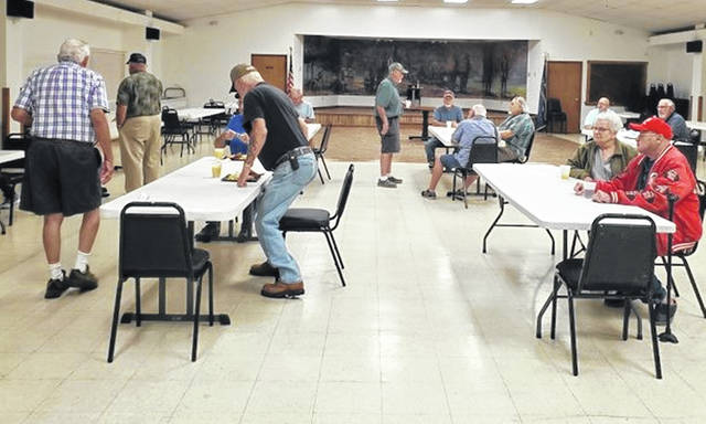 During the September Veterans' Breakfast at the local American Legion, 83 veterans and guests were served.