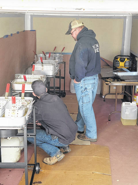 According to Wayne Township Fire Rescue Fire Chief Chris Wysong, the turnout was great, and they sold out of fish twice. The event was from noon to 5 p.m. but by 4:10, the baked beans, potato salad and some of the sodas were sold out.