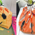 Getting crafty for the fall season: Paper Bag Pumpkin