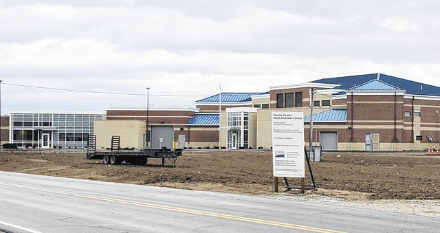The construction of the new Fayette County Jail, located off Robinson Road, has an expected completion date of Jan. 18.