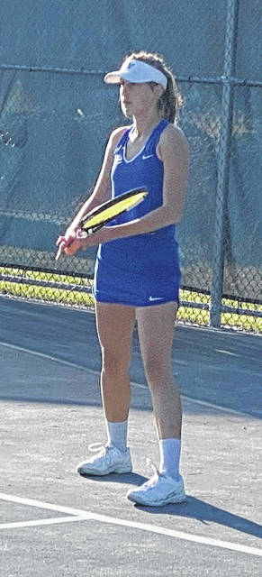 Brooklyn Foose went 3-2 at the Division II Sectional tournament on Oct. 6 and 7, 2020.