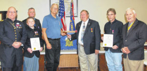 Sons of Union Vets install officers