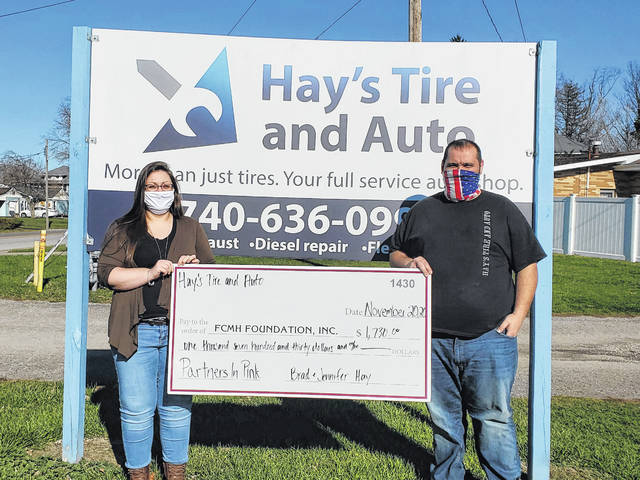 Hay's Tire & Auto owners Jennifer and Brad Hay