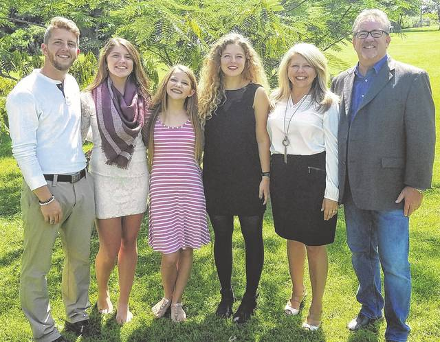 The Morrison family. Heritage Church Pastor Bruce Morrison (far right) passed away Friday following a nearly month-long battle with COVID-19.