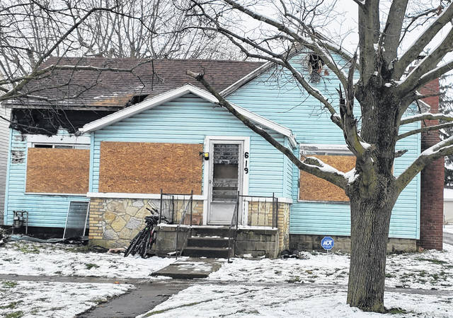 On Thursday morning, a house fire was reported at 619 Rawlings St. in Washington Court House. There were no injuries although damage to the siding of a neighboring home was reported.