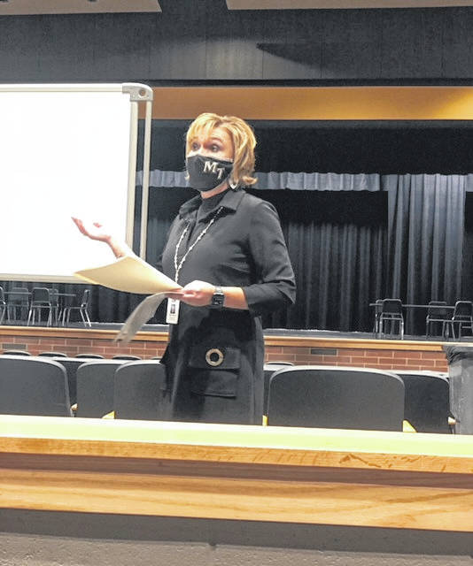 Miami Trace Superintendent Kim Pittser recently discussed the strategic plan that will be voted on by the board during Monday's meeting.