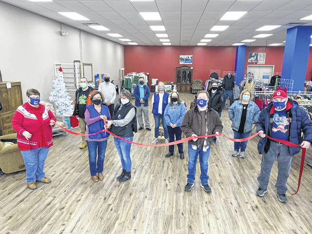 A ribbon cutting was held this week for the opening of Goodwill of South Central Ohio's Washington Court House store at 1122 Columbus Ave.