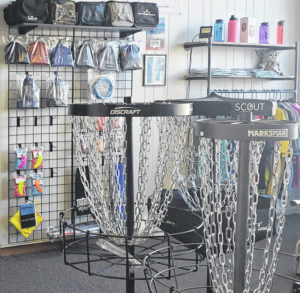 Local disc golf supplies available