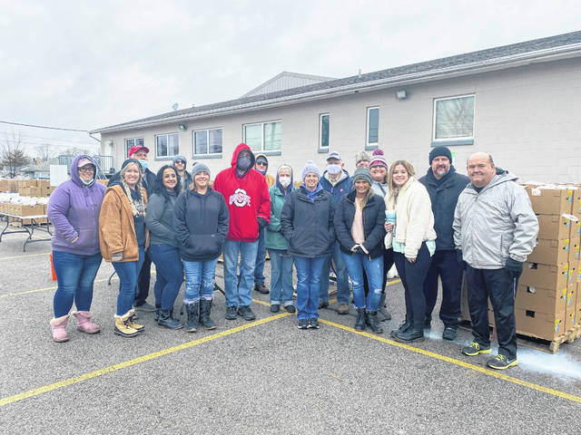 """Many volunteers are contributing to """"Feed Fayette,"""" an outreach program designed to feed the community at South Side Church of Christ. Food distributions take place every Tuesday at noon."""