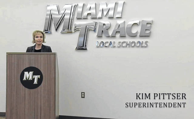 Miami Trace Local Schools Superintendent Kim Pittser and the staff in the district held their second-annual State of the District address online on Monday.