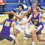McClain tops Blue Lions, 60-30