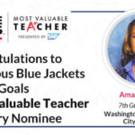 Runk nominated as CBJ 'Most Valuable Teacher'
