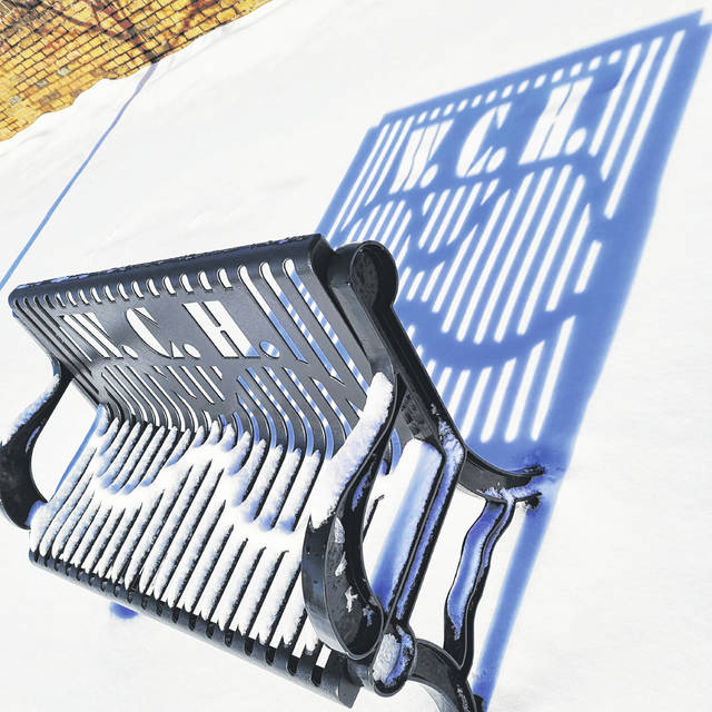 Local Sarah Nichols submitted this photo of a bench in Washington Court House off East Street.