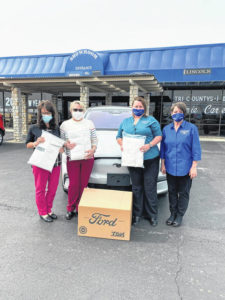 Beford Ford donates masks to community