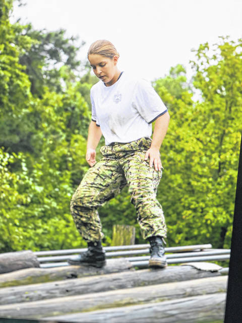 Kylie Pettit was recently ranked number one in her class of nearly 1,200 Midshipmen at the United States Naval Academy following her first semester.