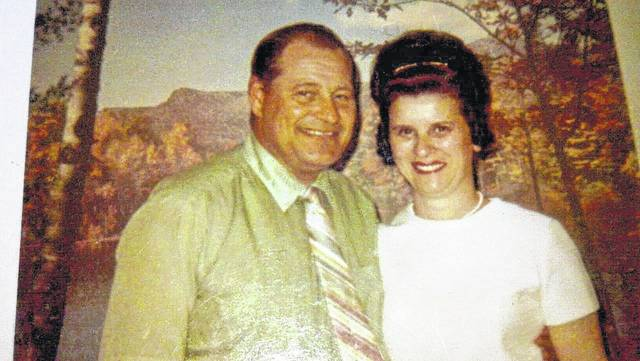 Clarence A. Christman Jr. and his wife, Mary Lou, in 1970.