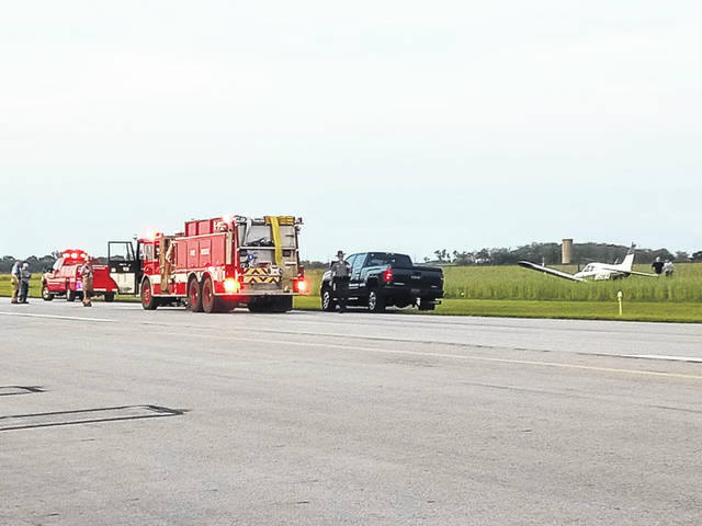 """The Fayette County Sheriff's Office crash reconstruction personnel are investigating an """"aircraft mishap"""" that occurred at the Fayette County Airport Thursday evening. They are being assisted by the Federal Aviation Administration (FAA) and the National Transportation Safety Board (NTSB)."""