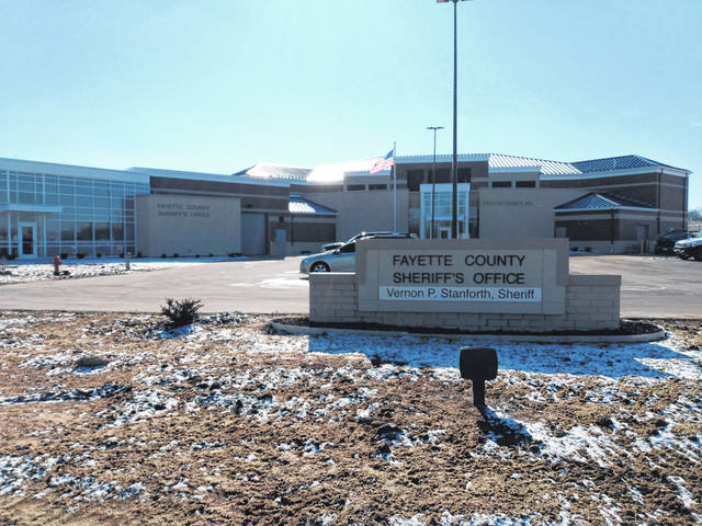 The new Fayette County Jail complex