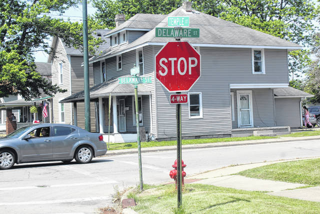 A homicide occurred overnight Thursday at the intersection of East Temple and Delaware streets. Robert Lee Gould II, 45, has been identified by the police as the victim. The investigation is ongoing.