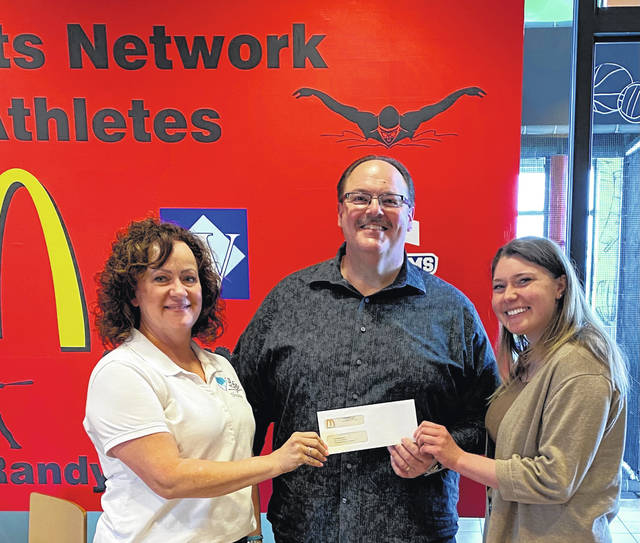 Nick Epifano, owner-operator of the local area McDonald's Restaurants, recently made a special presentation to three local organizations with a $1,000 check to each. Epifano is pictured with Shawn Lachat and Rebecca Elrich from the LIFE Pregnancy Center.