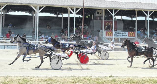 There will be 12 races at the fair Wednesday, beginning at 4:30 p.m.