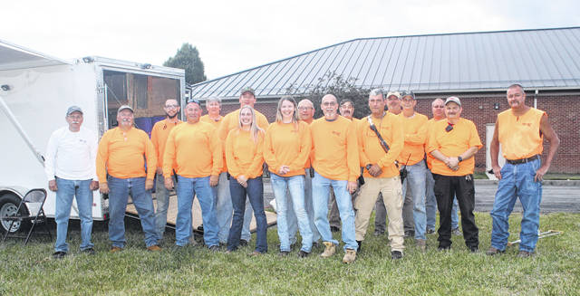 The Fire In The Sky fireworks display was held at the Fayette County Fairgrounds on Saturday evening with the community enjoying from all over. After being unable to hold a display due to COVID-19 last year, the volunteers were excited to bring the show back to Washington Court House this year. Pictured are the various volunteers who give many hours to ensure Fire In The Sky goes off without a hitch.