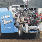 Truck and tractor pulls excite large fair crowd