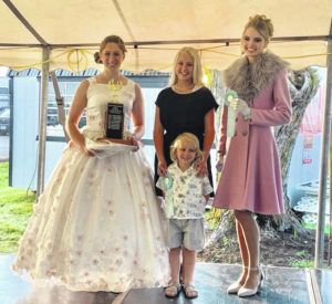 Participants show off sewing, fashion skills during fair
