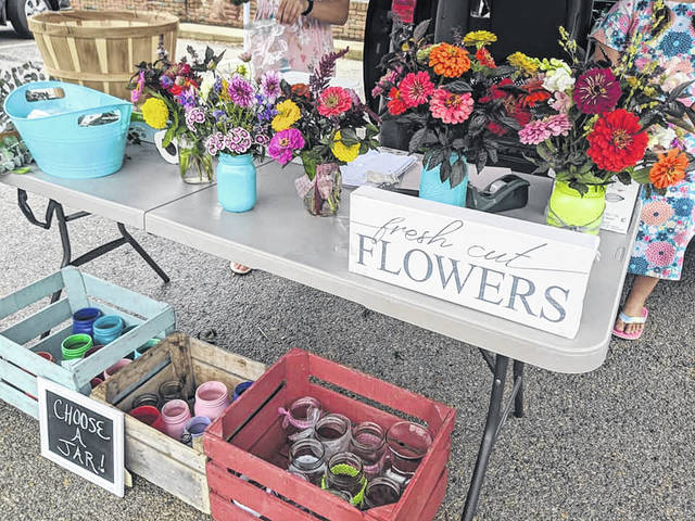 Multiple vendors will be present at this week's Fayette County Farmers Market.