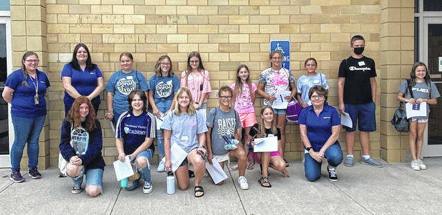 Recently, 13 local youth in grades 6-8 completed a Safe Sitter Course offered at Fayette County Public Health.