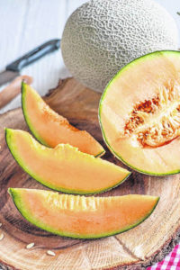 Melons arriving at midweek Farmers Market