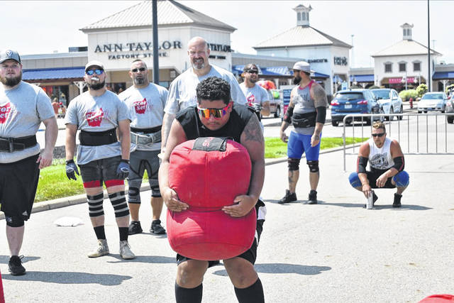 The event attracted athletes from all over Ohio and was free for the public to attend.