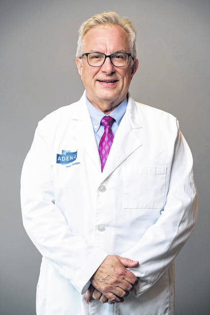 Dr. Richard Mizer, a family physician at Adena Family Medicine-Greenfield.