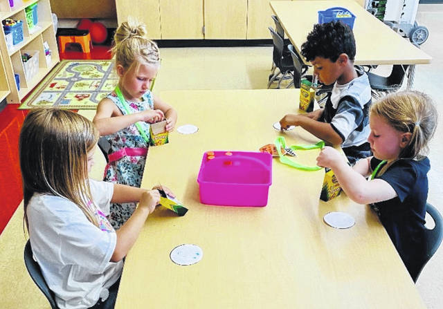 Many activities — educational and social — are ready for these little Panthers this school year.